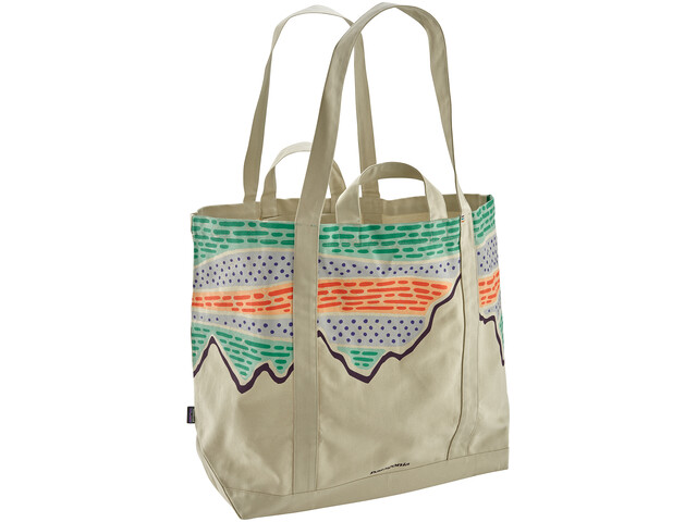 Patagonia All Day Tote Solar Rays '73/Bleached Stone